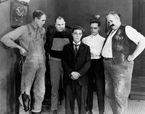 Buster Keaton in the 1920 movie 'Neighbors'